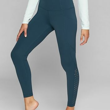 Laser Cut Salutation Tight | Athleta