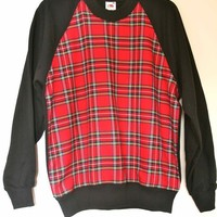 Royal Stewart Tartan Sweater | Skullduggery