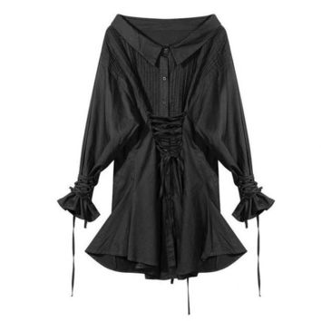 Womens Casual Wear Robe Femme Vestidos De Festa Vintage Women Dresses Sexy Club Gothic Punk Robe Femme