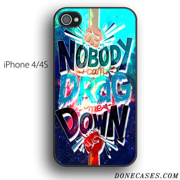drag me down one direction case for iPhone 4[S]