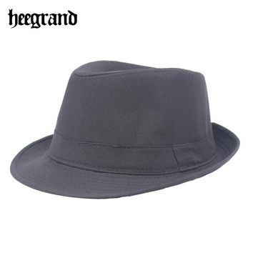HEE GRAND Wide Brim Men Fedora Style Hat