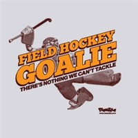 Field Hockey - Goalie Heather Gray Tee