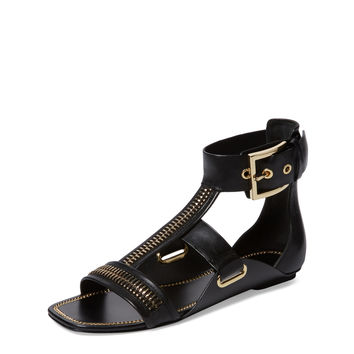 Rachel Zoe Women's Inigo Leather Sandal - Black -