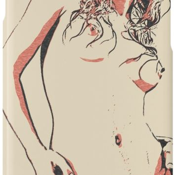 'Erotic nude, naughty posing, hot girl in stockings' iPhone Case/Skin by sexyjustsexy