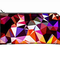 Graphic Pencil Case, Makeup Bag, Pencil Pouch, Small Gift