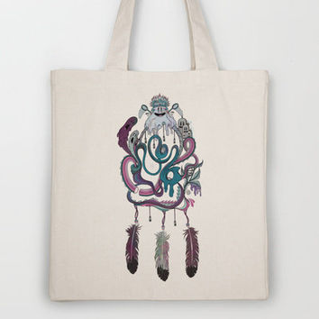 The Dream Catcher Tote Bag by Mat Miller | Society6