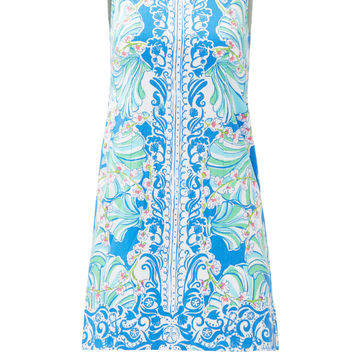 Lilly Pulitzer Blue Shell Shift