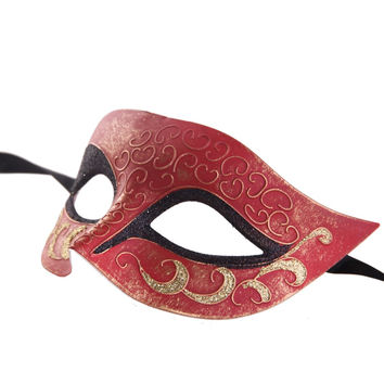 New Arrival 1pc/lot Multi color Painted Fine Fashion Plastic Mask Masquerade Party Festival Halloween Christmas Wedding F002-BK