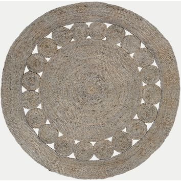 Surya Floor Coverings - SDZ1007 Sundaze 8' Round Area Rug