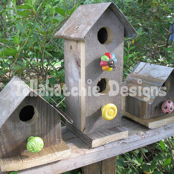 30% OFF TODAY Primitive Birdhouses,Rustic Birdhouses,Rusty Roof Birdhouses,Metal Roof Birdhouses,Birdhouses.Birdhouse,Barnwood Birdhouses