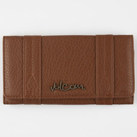 Volcom Grapa Wallet Cognac One Size For Women 25964340901