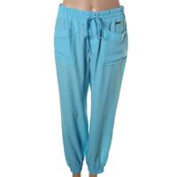Lauren Active Womens Chiffon Lightweight Jogger Pants