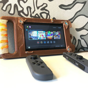 Nintendo Switch Sheikah Slate Case 3D Print Breath of the Wild Zelda Printed Cosplay Costume