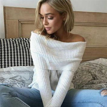 Nicola Off-the-Shoulder Sweater
