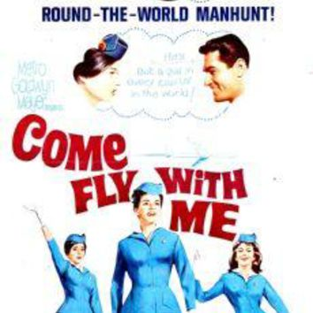 "Come Fly With Me Poster Movie Poster Insert 14""X36"""