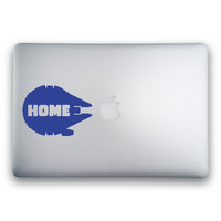 Millennium Falcon Home Sticker for MacBooks and Apple Devices