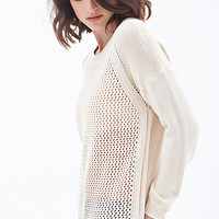 LOVE 21 Easy Open-Knit Sweater
