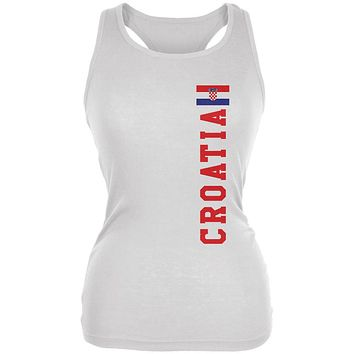 World Cup Croatia Juniors Soft Tank Top