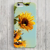 iPhone 6 Case, iPhone 6 Plus Case, iPhone 5S Case, iPhone 5 Case, iPhone 5C Case, iPhone 4S Case, iPhone 4 Case - Flowers of Sun