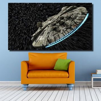 Star Wars Force Episode 1 2 3 4 5 QKART Decorative Pictures  Oil Painting for Living Room Bedroom Canvas Prints Wall Decor AT_72_6