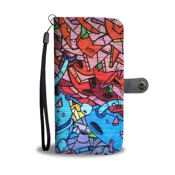 The Graffiti Robots Phone Wallet Case