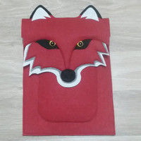 iPad Mini Felt Case - Fox Red