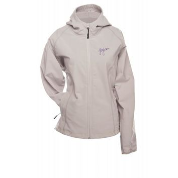 FlyLow Womens Grey Bonnie Snowboard & Ski Hooded Jacket Coat Small 6100-0002