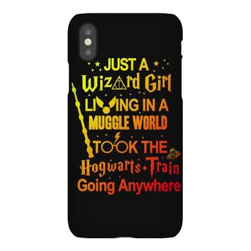 Just A Wizard Girl Living In A Muggle World iPhoneX