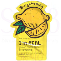 TonyMoly I'm Real Face Mask Sheet - Lemon