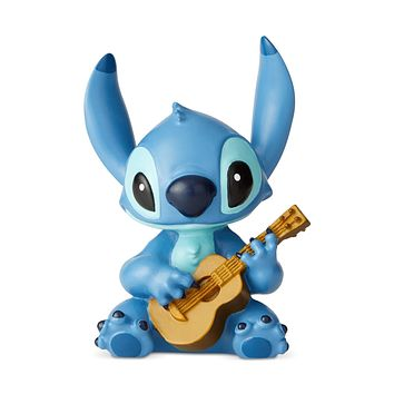 Disney Showcase Stitch with Guitar Mini Figurine New with Box
