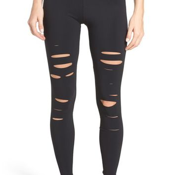 Alo Ripped Airbrush Leggings | Nordstrom