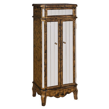 Shop Antique Jewelry Armoire on Wanelo