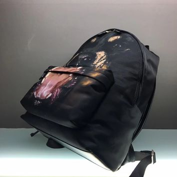 HCXX 19June 655 Givenchy dog pattern Classic Causla Fashion Traveling Mountaineering Canvas Backpack
