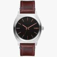 Nixon Time Teller Watch Gray/Rose Gold One Size For Men 25573138101