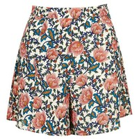 **Floral A-Line Shorts by Glamorous Petites