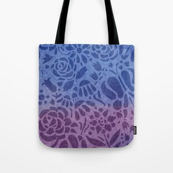 Watercolor Nature Tote Bag by Noonday Design