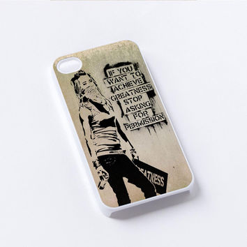 bansky gilrs greatness iPhone 4/4S, 5/5S, 5C,6,6plus,and Samsung s3,s4,s5,s6