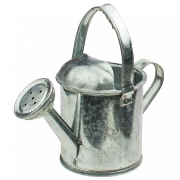 "Mini Tin Garden Watering Can 3.5"" H"