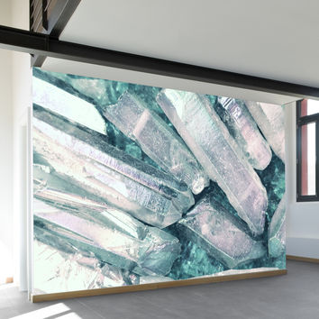 Water Crystal Wall Mural