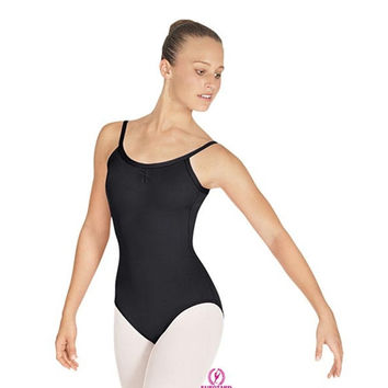 "Eurotard Tall Microfiber Pinch Front Camisole Leotard w/ ""V"" Back - Adult"