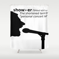 Personal Concert Hall Shower Curtain by beoriginal