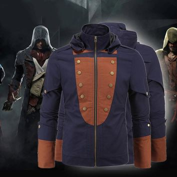 2016 Autumn new high-end European and American arrival lounge Assassin's Creed brand men's jackets anoraks Jarno game Clothes