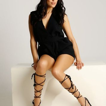 "Unique lace up grecian sandals ""Calanthe"". Perfect to complete your outfit with a maxi or mini dress. Designed and handcrafted in Greece."