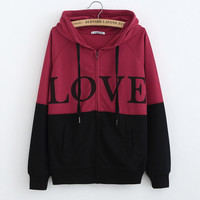 Women's Fashion Winter Hats Long Sleeve Hoodies Jacket [8894721223]