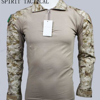 SPIRIT TACTICAL Camouflage  military tactical clothing with knee pads S8596