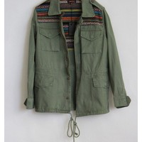 Military Knit Jacket