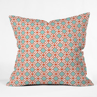 Caroline Okun Astrid Outdoor Throw Pillow