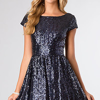 Short Sequin Cocktail Dress from B Darlin