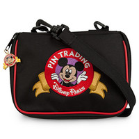 Disney Parks Mickey Mouse Pin Trading Bag Small New With Tag