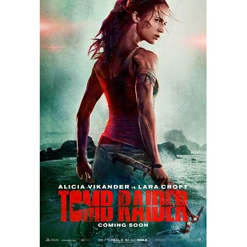 "Tomb Raider Poster Mini Poster 11""X17"""